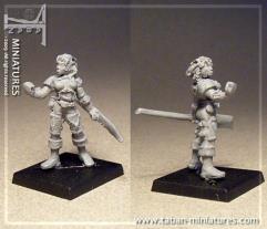 Barbarian Huntress