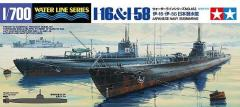 Japanese Navy Submarines - I6 & I58