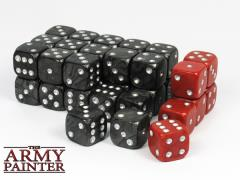 Wargaming Dice - Black (36)