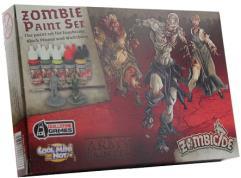 Zombie Black Plague Paint Set