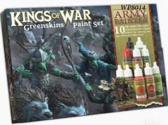 Kings of War - Greenskins Paint Set
