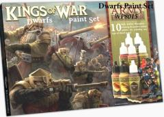 Kings of War - Dwarfs Paint Set