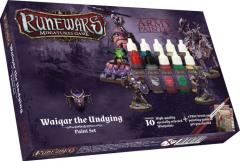 Runewars - Waiqar the Undying Paint Set
