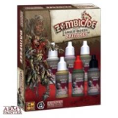 Zombicide Black Plague Green Horde Paint Set
