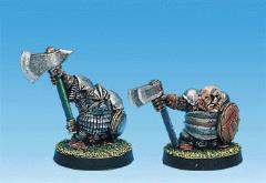 Dwarf Blood Bones w/Axes