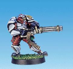 Assault Marine HMG Specialist