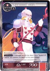 """Card Soldier """"Heart"""" (C)"""