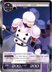 """Card Soldier """"Spade"""" (C)"""