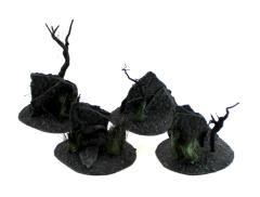 Darklands Broken Ground with Stone Wall #1