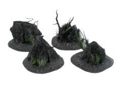 Darklands Broken Ground with Stone Wall #2