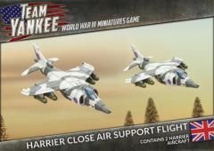 Harrier Close Air Support Flight