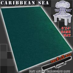 6' x 4' - Caribbean Sea
