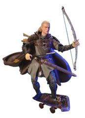 Helm's Deep Legolas w/Shield Skateboard