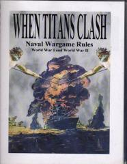 When Titans Clash - Naval Wargame Rules