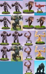 Ape Team #2 (Resin)