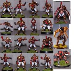 Middle Kingdoms Team (Resin)