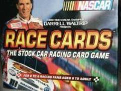Derrell Waltrip Presents Race Cards - The Stock Car Racing Card Game