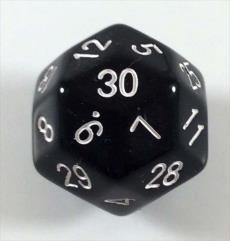 D30 Black w/White