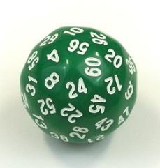 d60 Green w/White