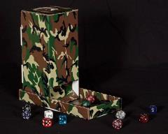 Dice Turret - Woodland Camo