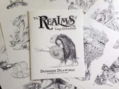 Realms of Tony DiTerlizzi, The - Dungeon Drawings (2015 Gencon Edition)