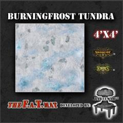 4' x 4' - Burningfrost Tundra