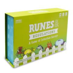 Runes & Regulations - A Game of Suburban Sorcery