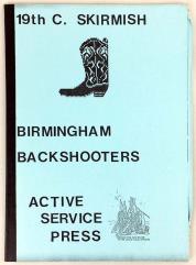 19th Century Skirmish - Birmingham Backshooters