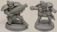 Brotherhood Elite Trooper Grenadiers #1