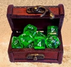Treasure Chest Dice Box