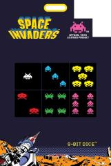 d6 8-Bit Dice - Space Invaders (6)