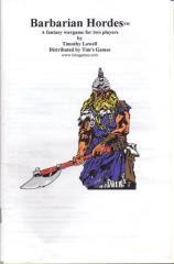Barbarian Hordes (2nd Printing)