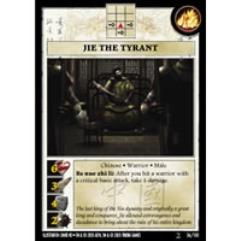 Warrior Pack - Jie the Tyrant