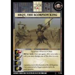 Warrior Pack - Srqt the Scorpion King
