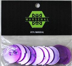 25mm LOF Status Discs - Purple