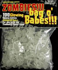 Bag o' Zombie Babes!!! - Glow-in-the-Dark