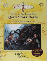 Quick Start Rules w/Dwarven Glory II - Wyrm Well