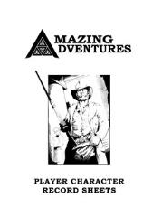 Amazing Adventures Character Record Sheets