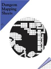 "Dungeon Mapping Sheets - 1/4"" x 1/4"" Graph Paper, Squares"