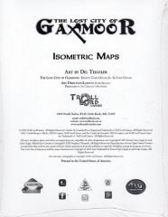 Maps of Gaxmoor - Isometric