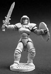 Confederation Marine w/Long Sword