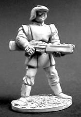 Confederation Light Infantry w/Assault Rifle