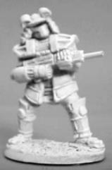 Imperial Senshi w/Assault Rifle