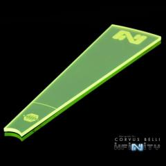 Infinity Zone of Control Templates - Flourescent Green