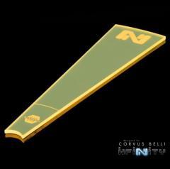 Infinity Zone of Control Templates - Flourescent Yellow