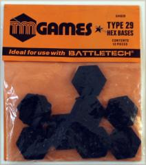 Type 29 Hex Bases (30mm)