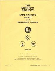 Game Master's Shield and Reference Tables