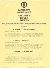 Security Cover Sheets