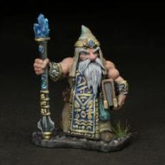 Dwarven Wizard - Alforrek Amberglow