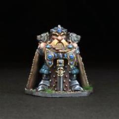 Dwarven King - King Thrarbuk Deepmore w/Dragon Scale Armor